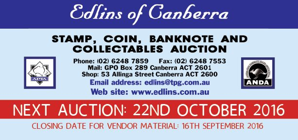 AUCTION: Edlins of Canberra
