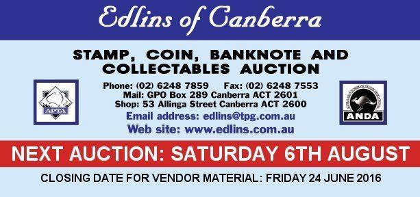 AUCTION: Edlins of Canberra