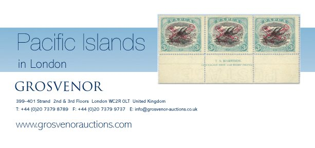 Grosvenor Pacific Islands Auction