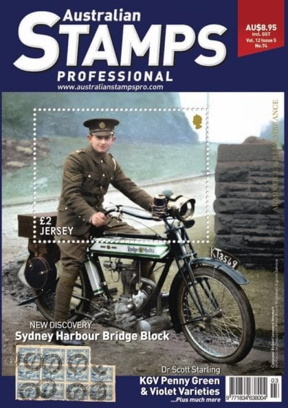 Australian Stamps Professional | Monthly Stamp Collectors